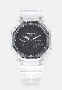 G-SHOCK - WHITE SKELETON GA-2100SKE UNISEX - Digitální hodinky - transparent/white - 0