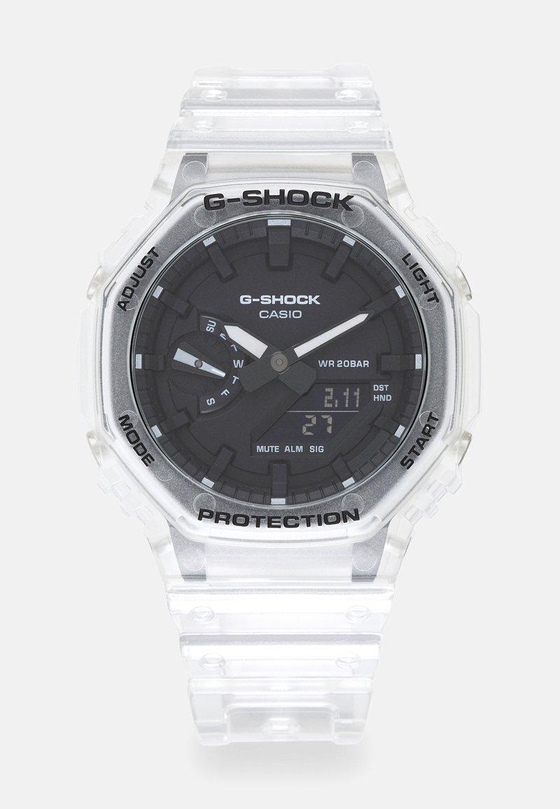 G-SHOCK - WHITE SKELETON GA-2100SKE UNISEX - Digitální hodinky - transparent/white