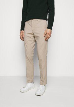 GRANT STRETCH PANTS - Kalhoty - sand grey
