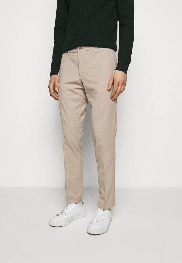 GRANT STRETCH PANTS - Pantaloni - sand grey
