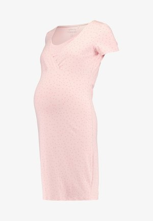 DRESS NURS SUZY SOLID - Nightie - silver pink