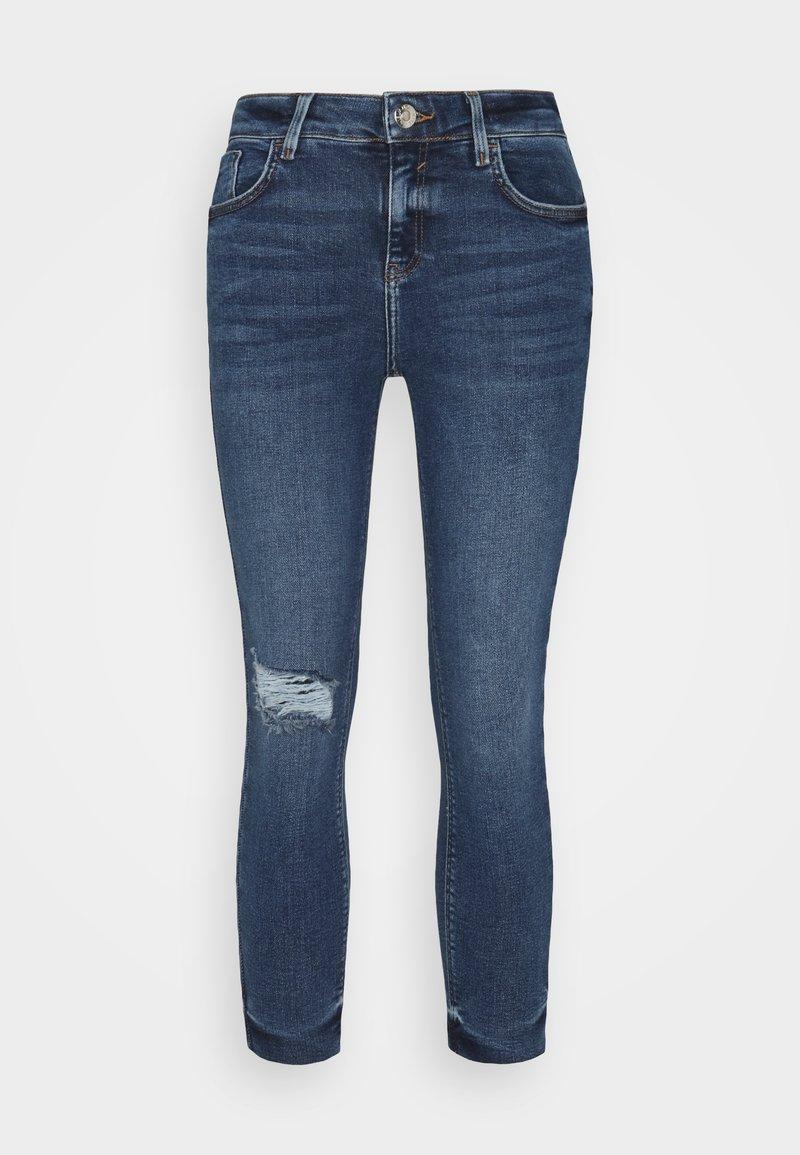 River Island Petite - Jeans a sigaretta - mid blue