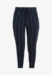 ONLY Petite - ONLPOPTRASH TEMPO STRIPE PANT - Trousers - night sky - 5