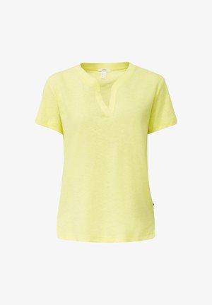 Basic T-shirt - bright yellow