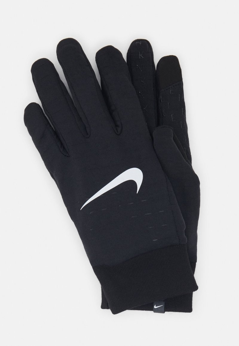 Nike Performance - NIKE MEN'S SPHERE RUNNING GLOVES - Hansker - black/black/silver