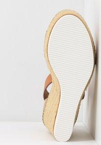 See by Chloé - Sandály na vysokém podpatku - beige - 6