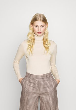 ROLL NECK - Jumper - creme