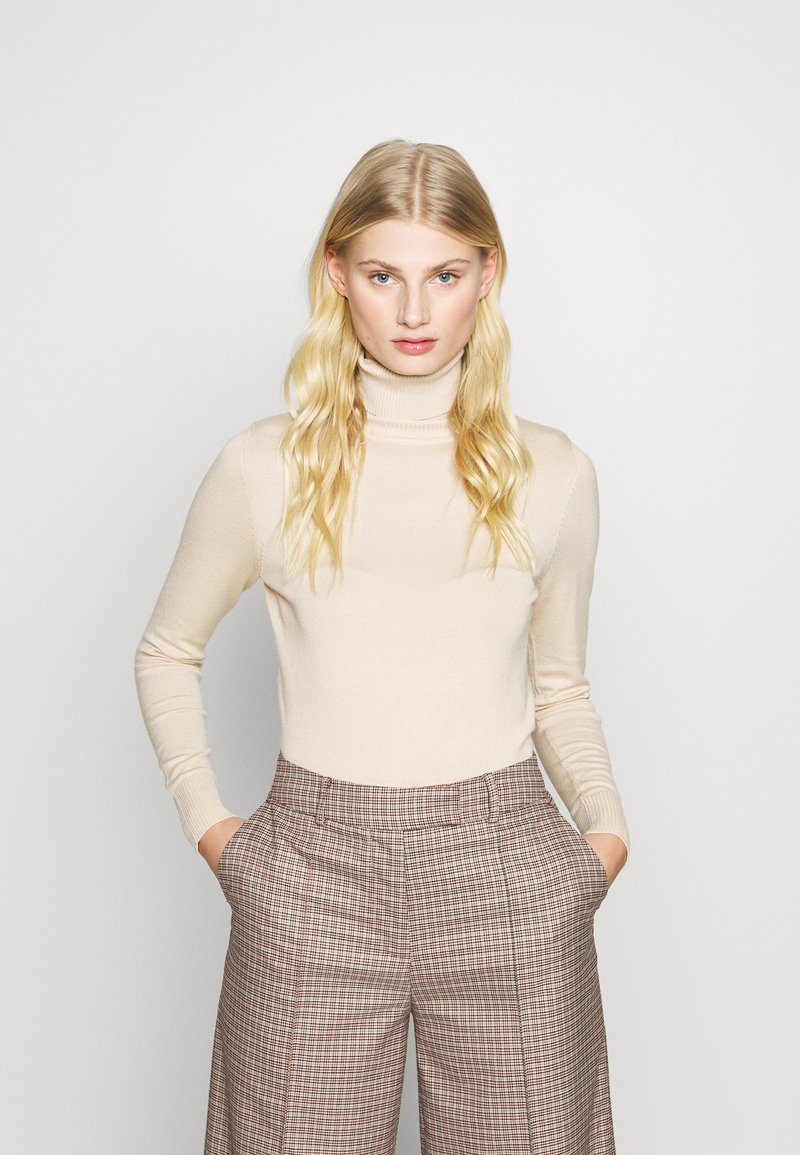 Saint Tropez - ROLL NECK - Jumper - creme