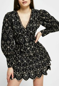 River Island - Shirt dress - black - 0