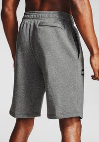 Under Armour - Sports shorts - pitch gray light heather - 1
