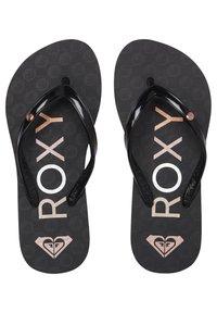 Roxy - ROXY™ SANDY - FLIP-FLOPS FOR GIRLS 8-16 ARGL100286 - Teensandalen - black - 0