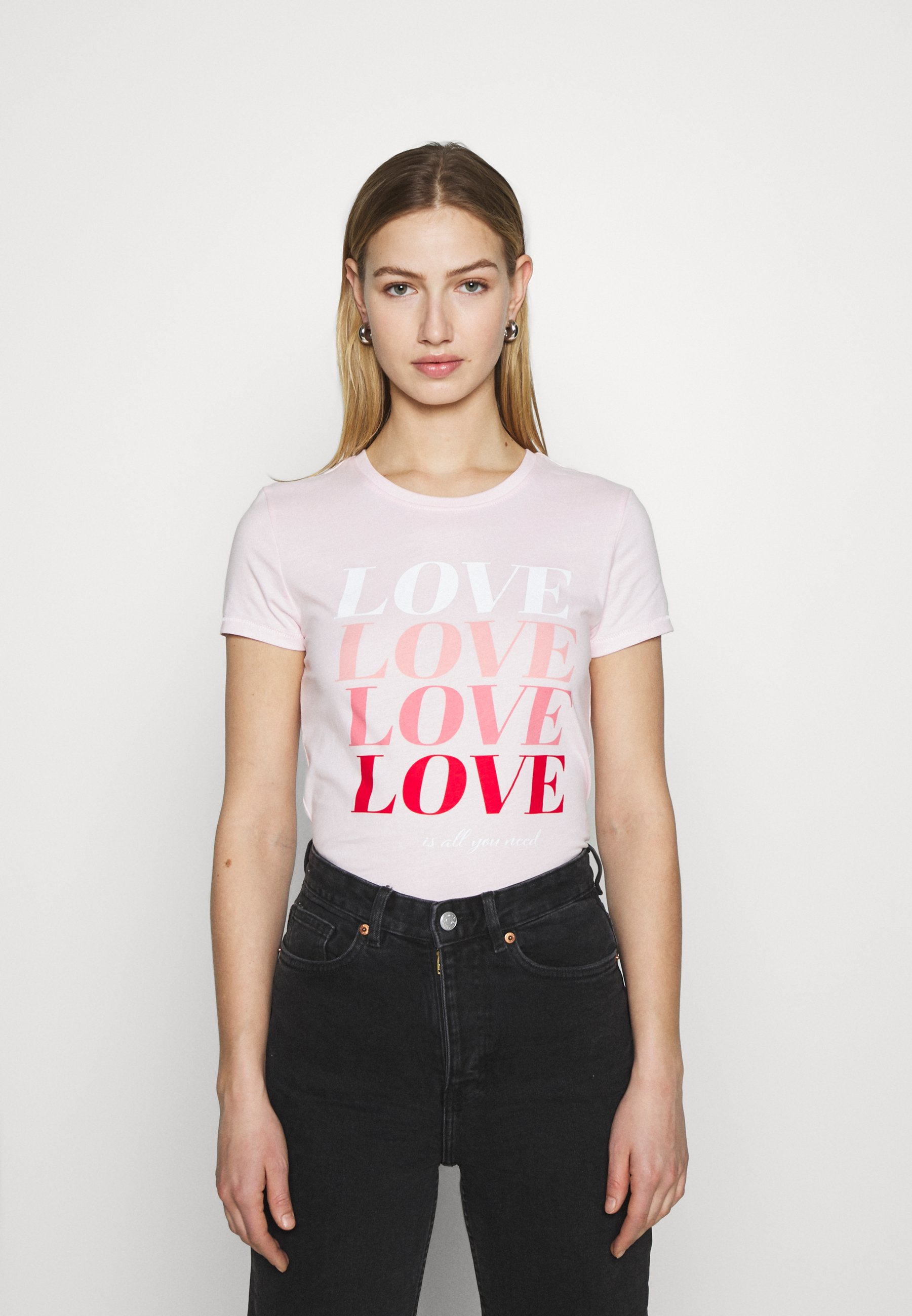 Damen ONLLOVE LIFE FIT BOX - T-Shirt print