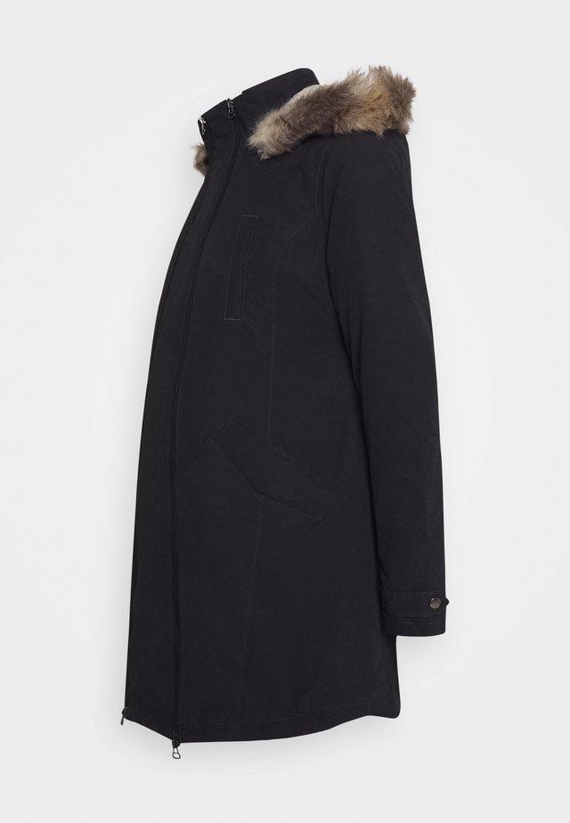MILA - Cappotto invernale - black