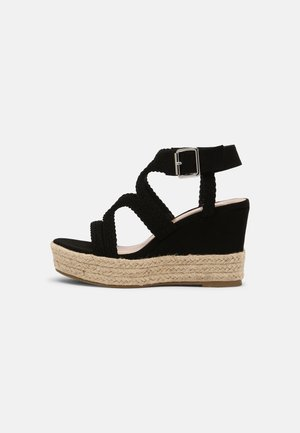 taupe - High heeled sandals - black