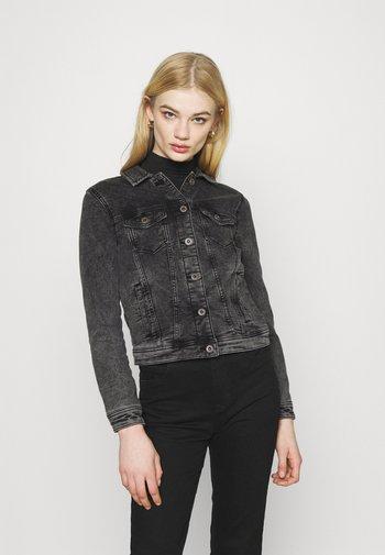 ONLTIA LIFE JACKET - Denim jacket - black