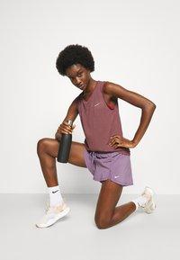 Nike Performance - RUN TANK - Top - dark wine/black - 3