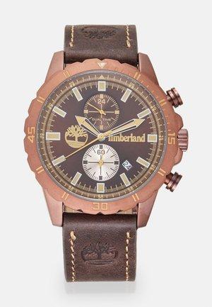 DUNFORD - Chronograph watch - darkbrown