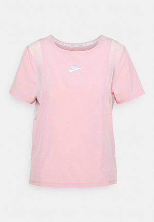 AIR - Triko spotiskem - pink glaze/silver