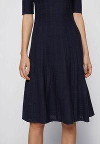 BOSS - Jumper dress - open blue - 4