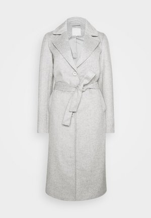 PCSISUN JACKET TALL - Classic coat - light grey melange