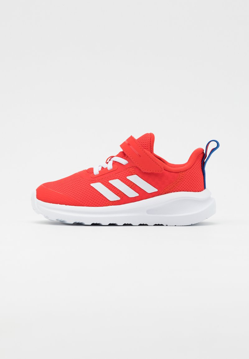 adidas Performance - FORTARUN UNISEX - Neutral running shoes - vivid red/footwear white/collegiate royal