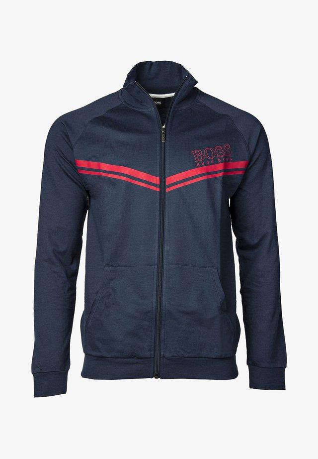 veste en sweat zippée - dunkelblau