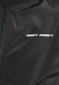 Night Addict - HEARD - Giubbotto Bomber - black - 5