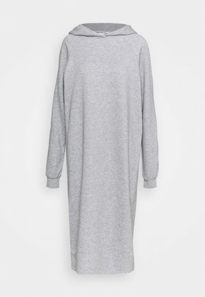NMHELENE DRESS - Denní šaty - light grey melange
