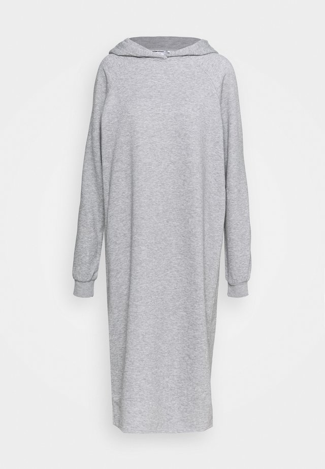 NMHELENE DRESS - Day dress - light grey melange