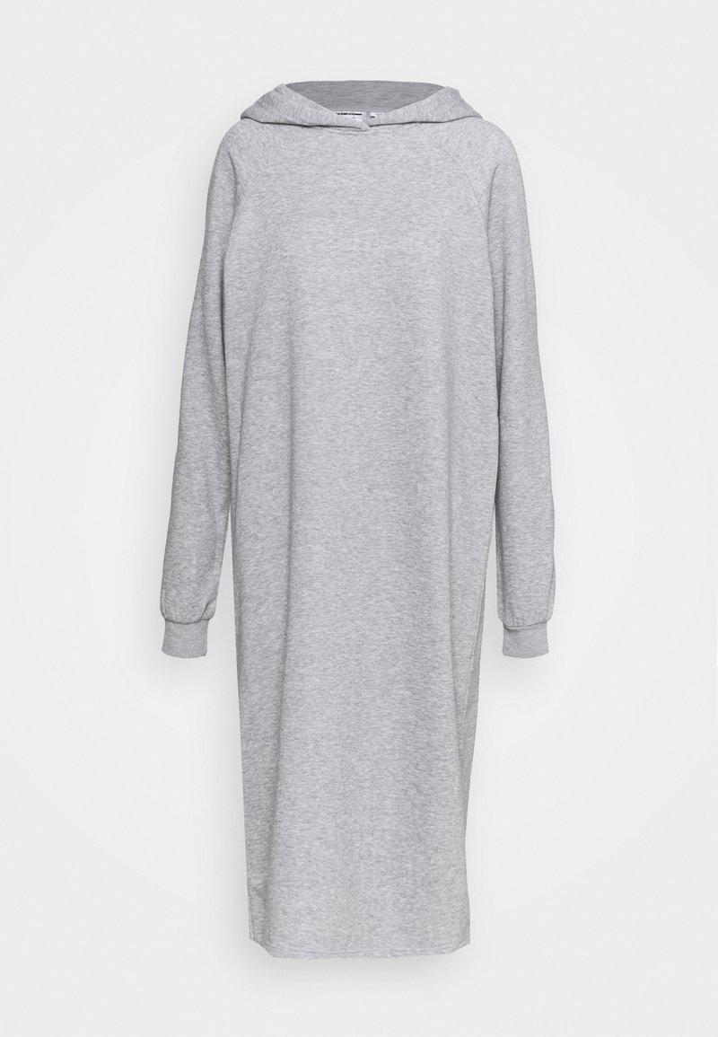 Noisy May Tall - NMHELENE DRESS - Day dress - light grey melange