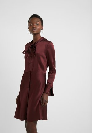 EMERA - Shirt dress - medium red