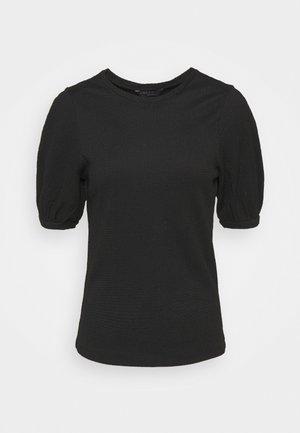 PUFF SLEEVE  - T-shirts - black