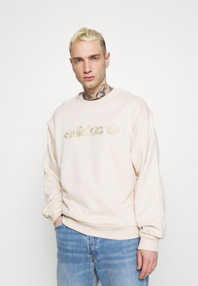 CREW UNISEX - Sweatshirt - halo ivory