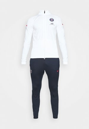 PARIS ST GERMAIN SUIT - Artykuły klubowe - white/university red