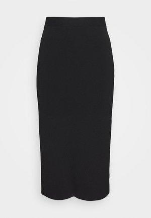 THE PENCIL SKIRT - Pencil skirt - black