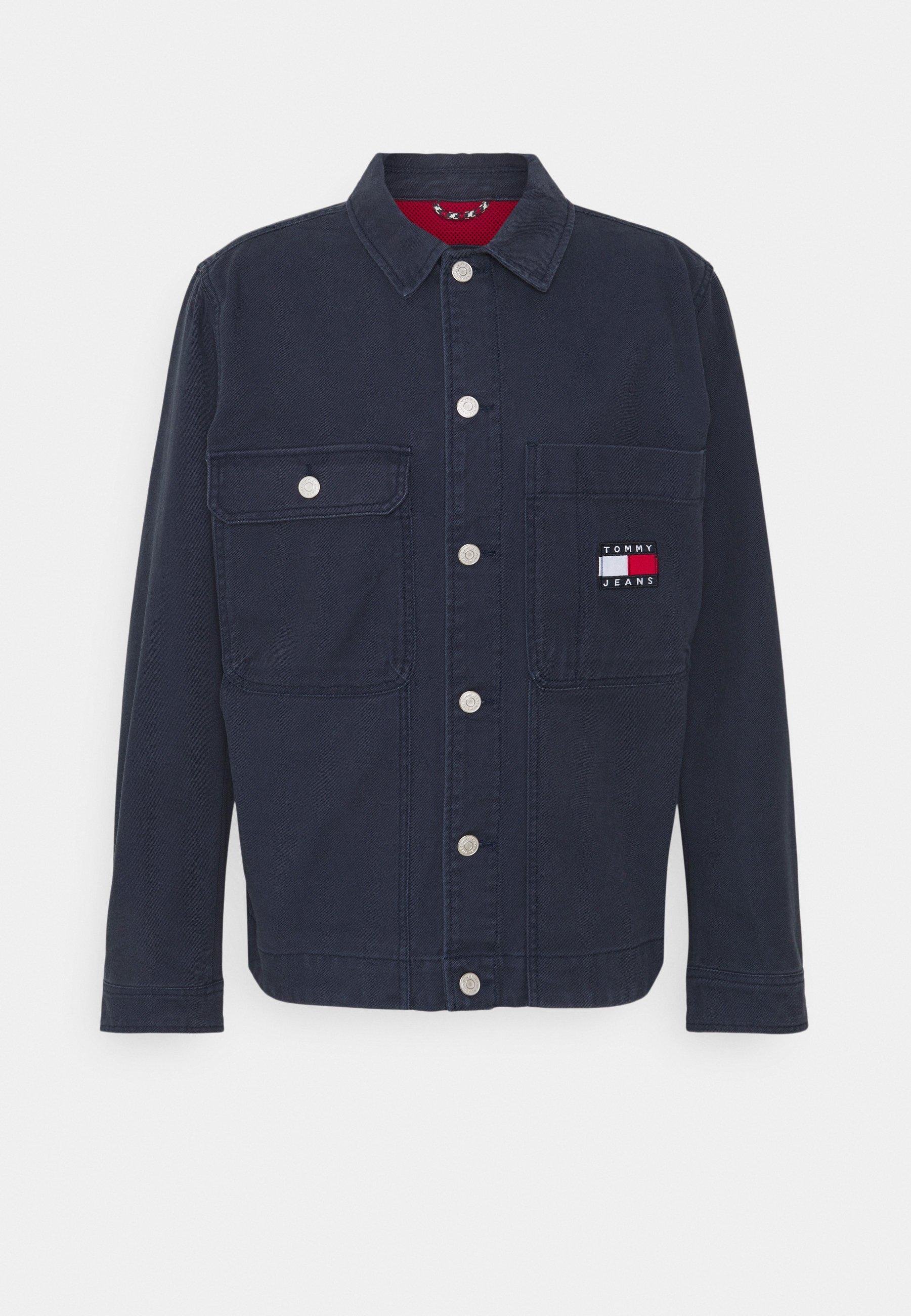 Men BOXY TRUCKER JACKET - Summer jacket