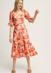 STOCKH LM Studio - RITA - A-line skirt - brown - 0