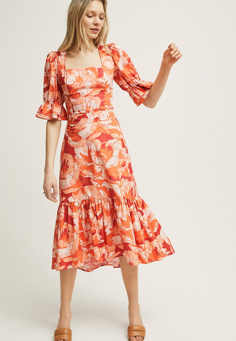STOCKH LM Studio - RITA - A-line skirt - brown