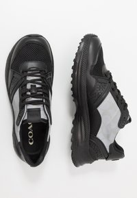 Coach - C143 REFLECTIVE SIGNATURE - Sneakers basse - black - 1