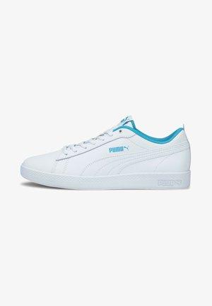 SMASH - Sneakers laag - white puma white scuba blue