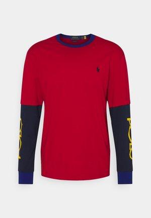 CLASSIC FIT LOGO JERSEY T-SHIRT - Langarmshirt -  red
