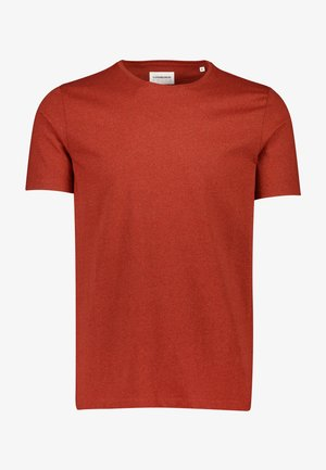 T-shirt basic - faded red mix