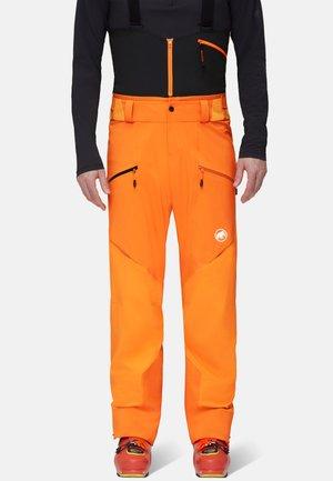 HALDIGRAT - Snow pants - dark cheddar-dark radiant