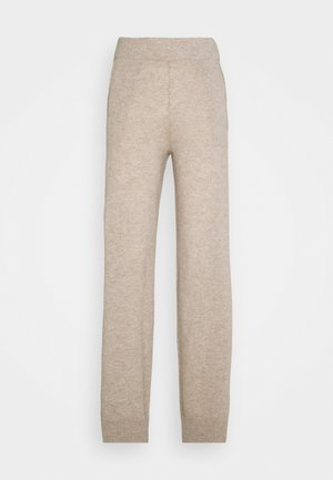 TROUSERS - Tracksuit bottoms - natural sand