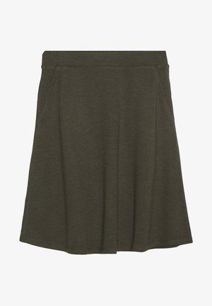 EASY SHAPE - A-line skirt - woodland green