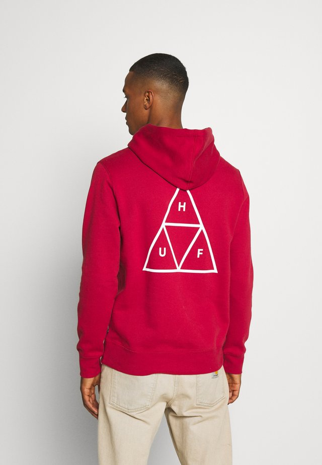ESSENTIALS HOODIE - Sweat à capuche - rio red