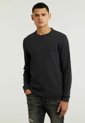 FIBRE - Long sleeved top - black