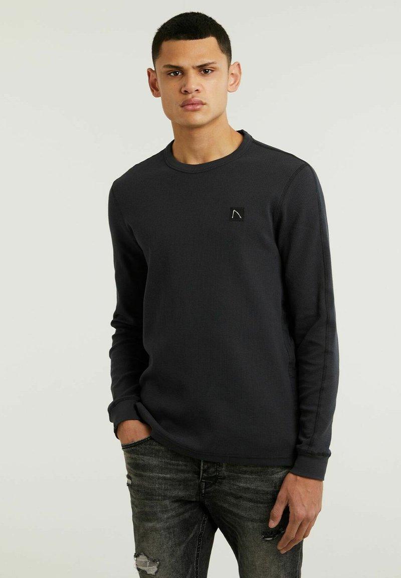 CHASIN' - FIBRE - Long sleeved top - black