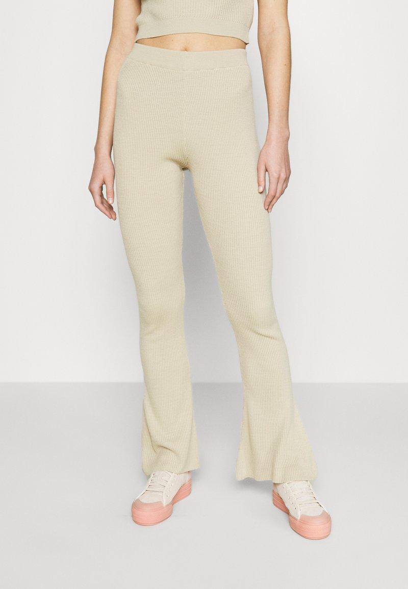 Topshop - FLARE - Kalhoty - neutral