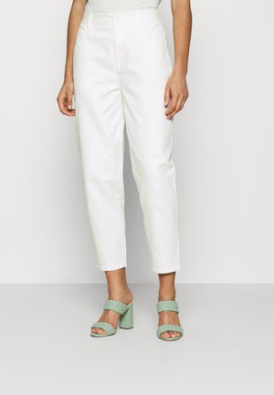 TSURU PANTS - Relaxed fit jeans - offwhite